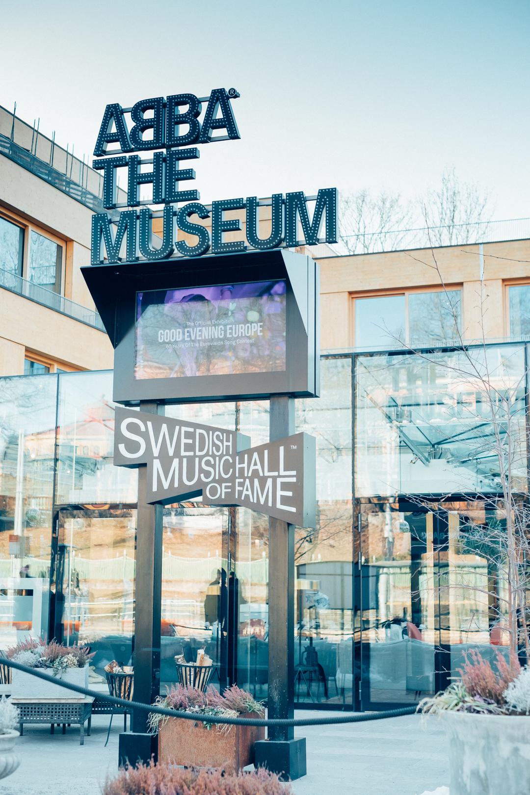 besöka abba the museum på djurgården i stockholm