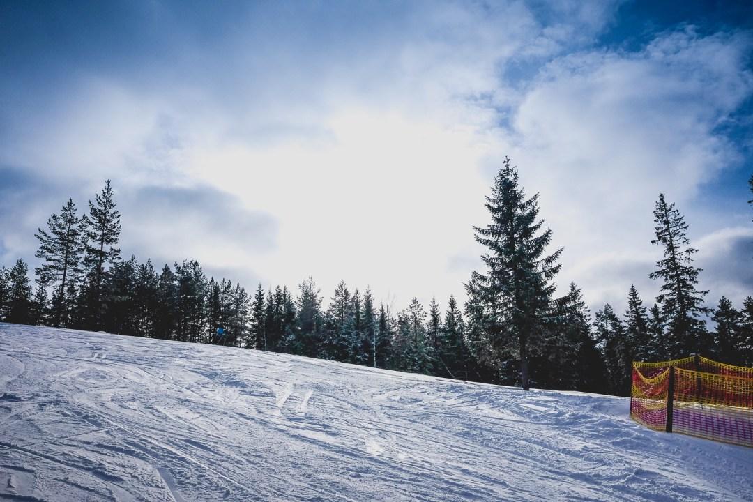 skidåkning i romme alpin