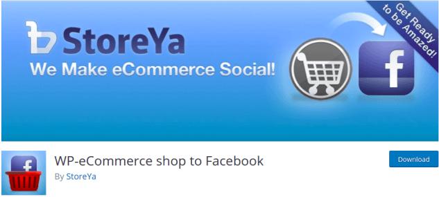 Wp-Ecommerce shop to facebook Tekraze