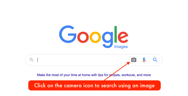 Using Google images