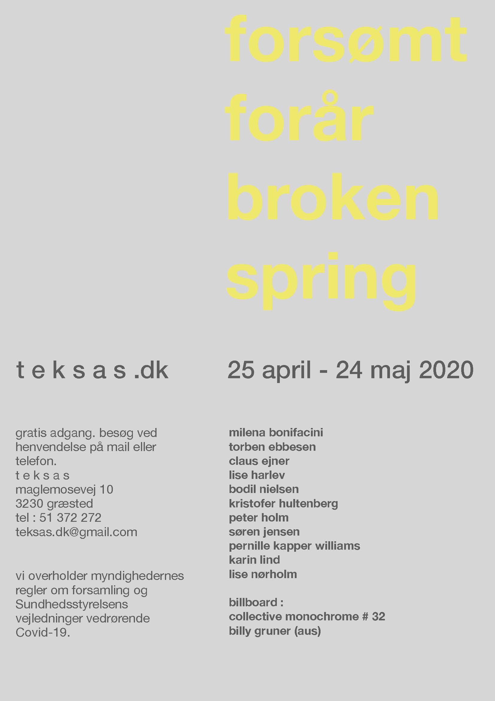 Forsømt Forår                Broken Spring