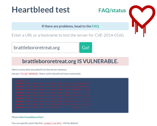 heartbleed test