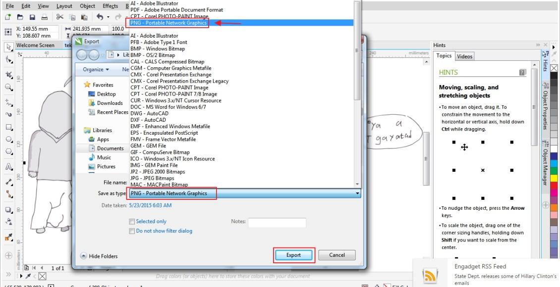 export-trace-png-coreldraw-teksnologi