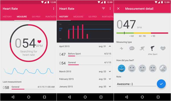 runtastic-heart-rate-android-app-interface