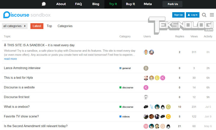 discourse-forum-screenshot-demo