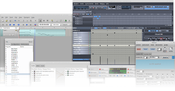 ubuntu-studio-audio-editing