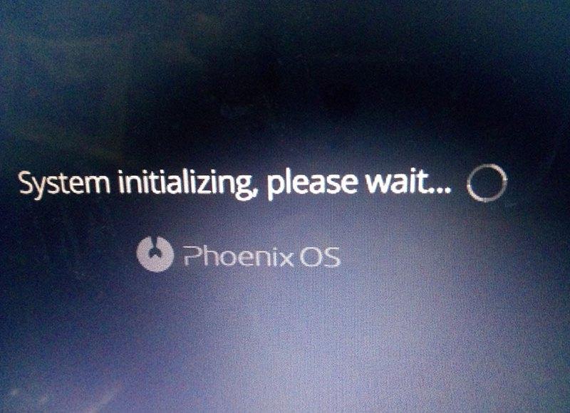 phoenix-os-system-initializing