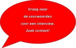Vraag een interview aan en mail