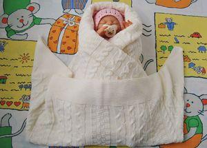 Kasut bayi dengan cara yang mudah