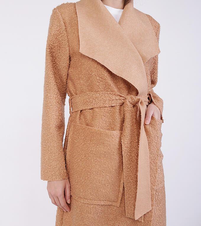 пальто женское из полиэстра