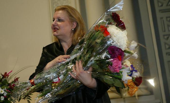 Ювілейний творчий вечір Валентини Антонюк у Будинку актора, Київ, 2004 р.