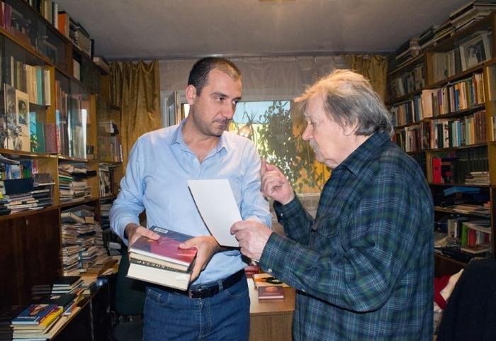 Мілан Загорац і Дмитро Чередниченко. Фото Оляни Рути