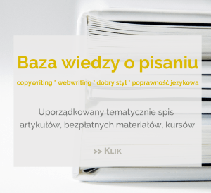 brief, Brief – po co to komu?, Tekstowni.pl