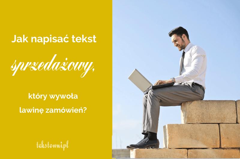 jak napisać ofertę sprzedaży, Jak napisać tekst sprzedażowy, którywywoła lawinę zamówień?, Tekstowni.pl