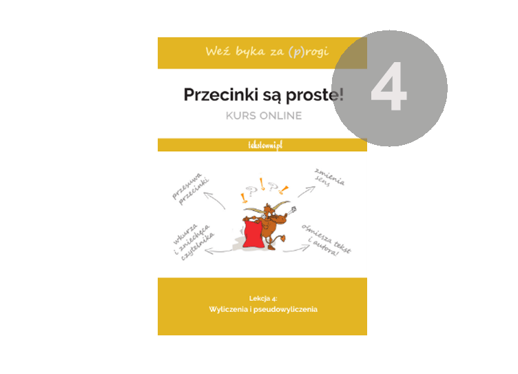 kurs interpunkcji online, Przecinki są proste, Tekstowni.pl