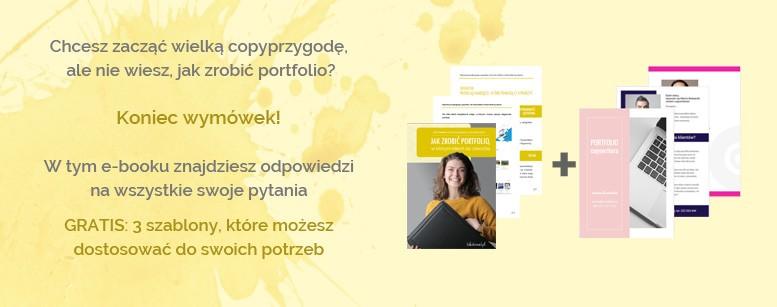 portfolio copywritera