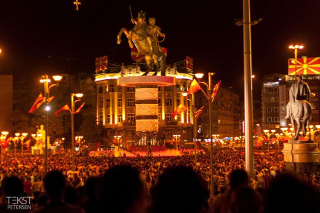 Skopje 2014 - Makedonien fejrer 20 års uafhængighed