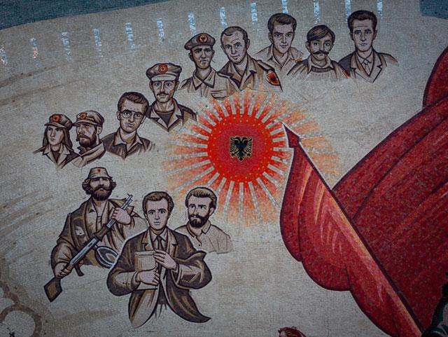 Skanderbeg-pladsen, UÇK, Skopje, Republikken Makedonien