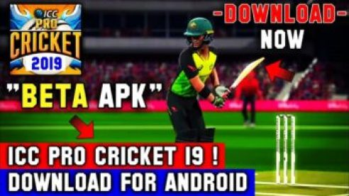 ICC Pro Cricket 2019 Clone Apk Data Dowmload For Android