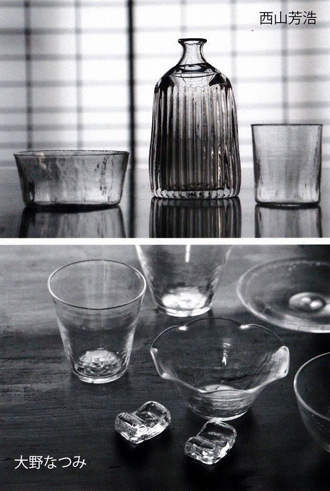 ガラスの器展