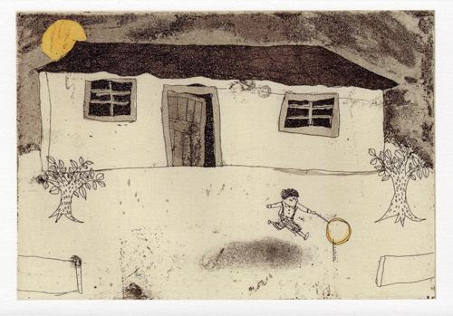 村上千彩銅版画展「夜のはなし」