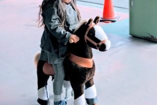 本物のポニー乗馬もあります(こちらはおもちゃ)