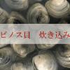 ホンビノス貝の炊き込みご飯レシピ