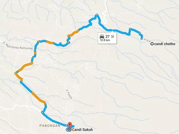 ※GoogleMapsより。こんなルートで行くようです。
