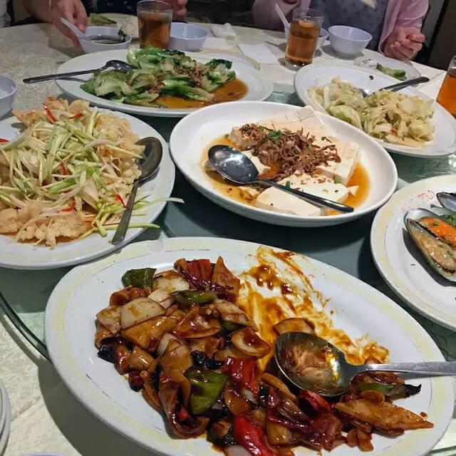 富臨門(マルコポーロ)という中華料理の店でした。