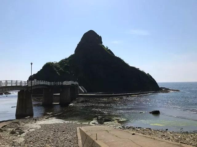 弁天島へ渡る橋