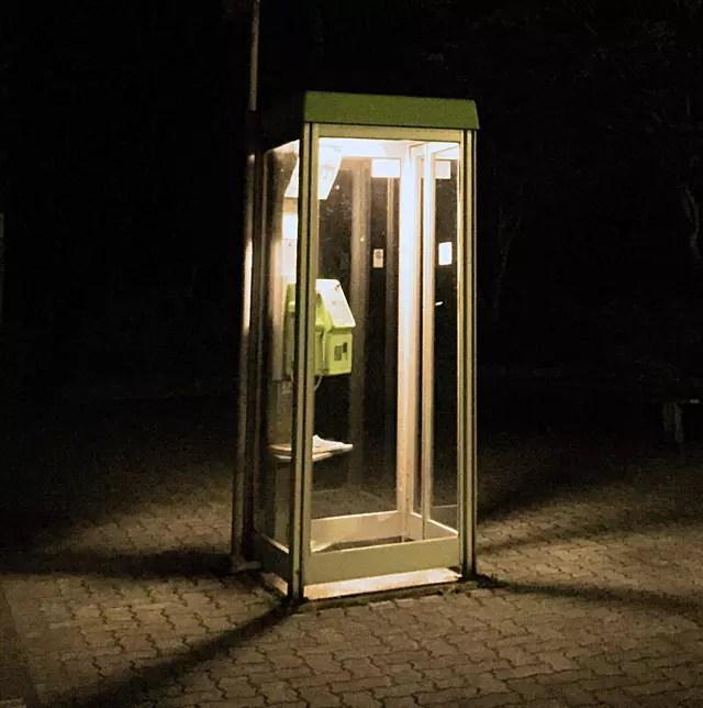 公衆電話BOX
