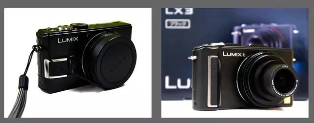 LX2(左)とLX3(右)ともに傑作。OEMとしてライカシリーズあり