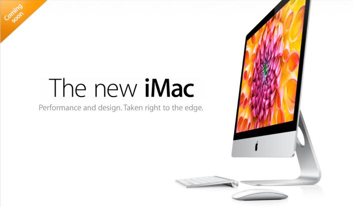 New Slimmer iMacs