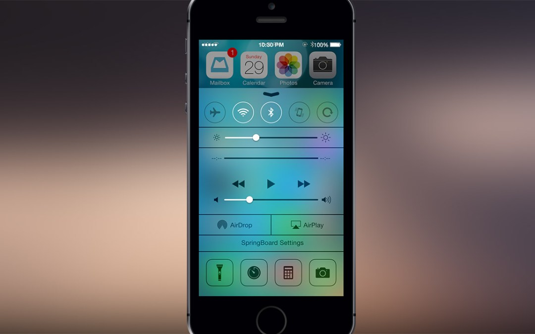 FlipControlCenter Tweak