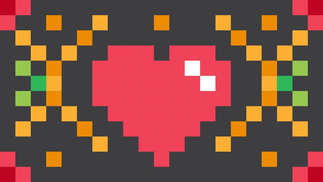 heart-pixel
