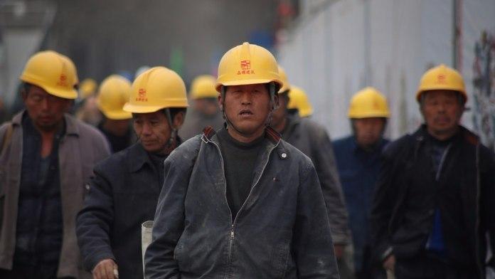 Imagen de varios trabajadores