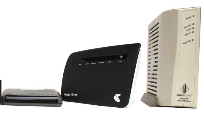 diferentes modems