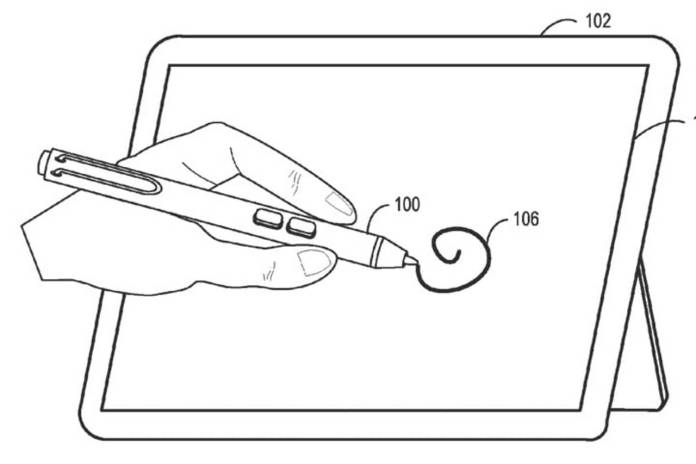 surface-pen-patente