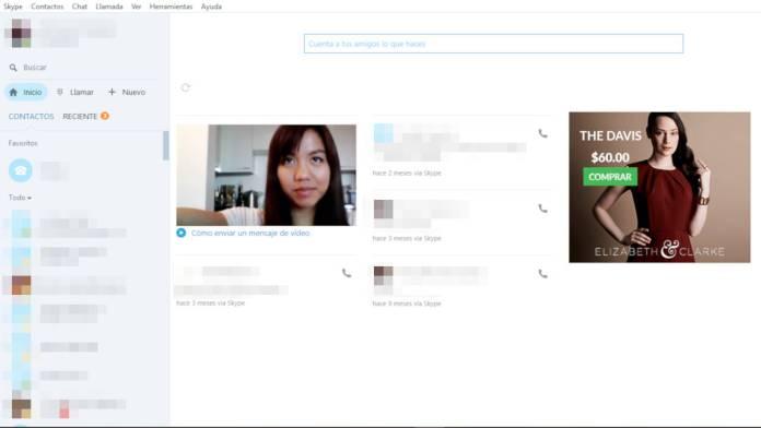 skype-interfaz