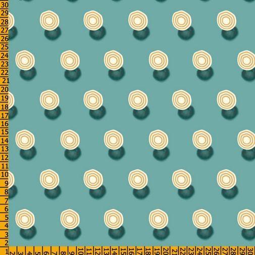 telas con fondos verdes