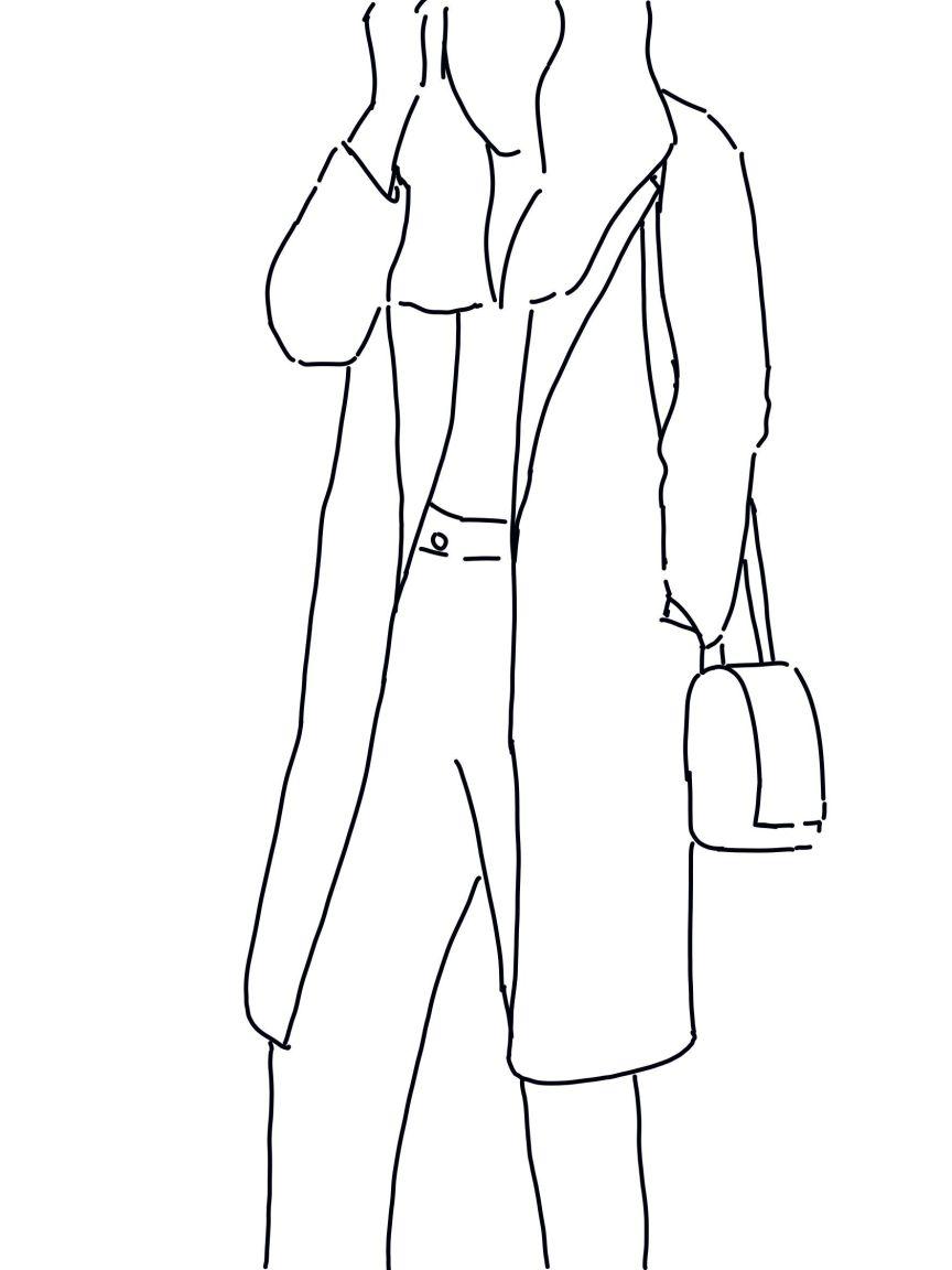 chaquetón de paño