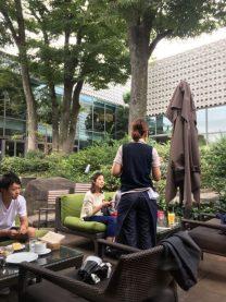 outdoor terrace tokyo