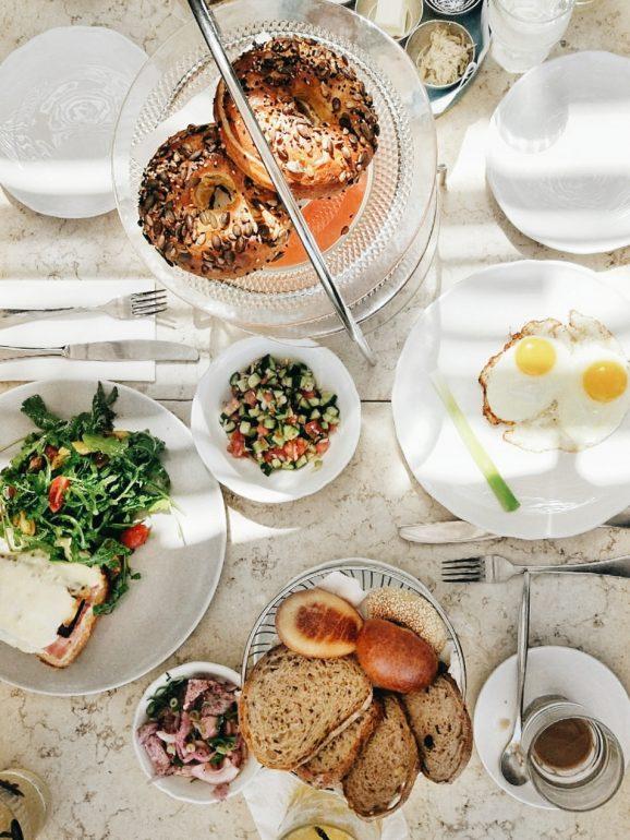breakfast in tel aviv