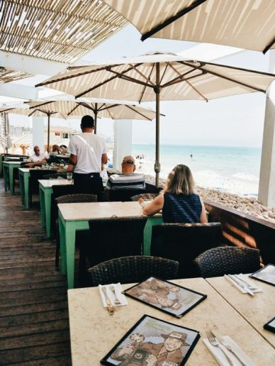 beachfront restaurant in tel aviv