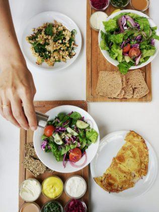 anastasia vegan food