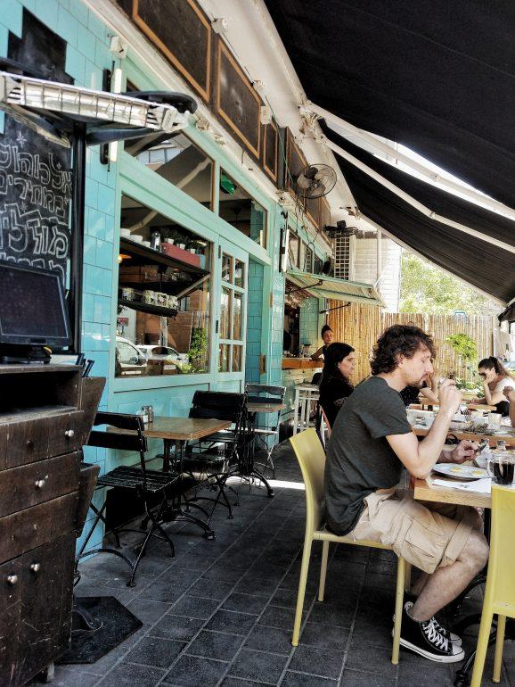 tel aviv cafe bread story
