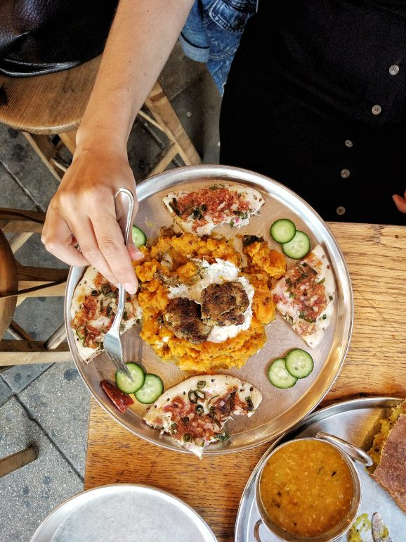 vegan indian food in tel aviv