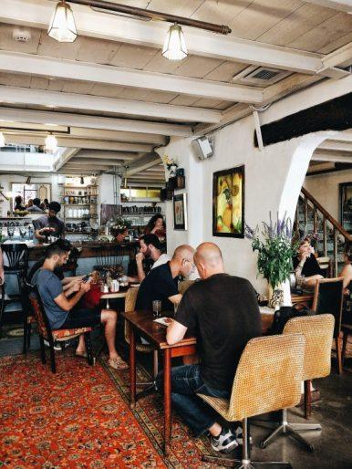 vintage cafe in jaffa tel aviv