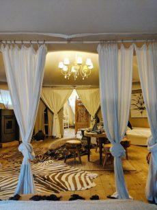 Luxury tents near venice