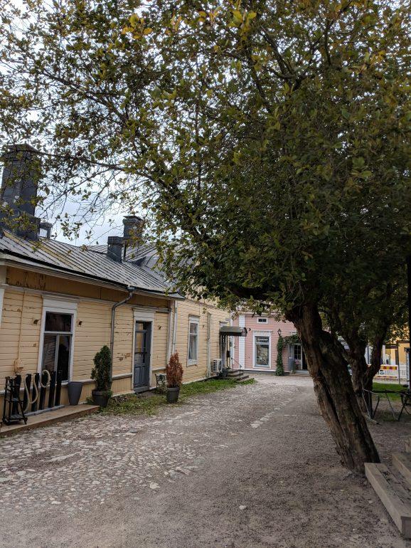 העיר העתיקה Porvoo פינלנד